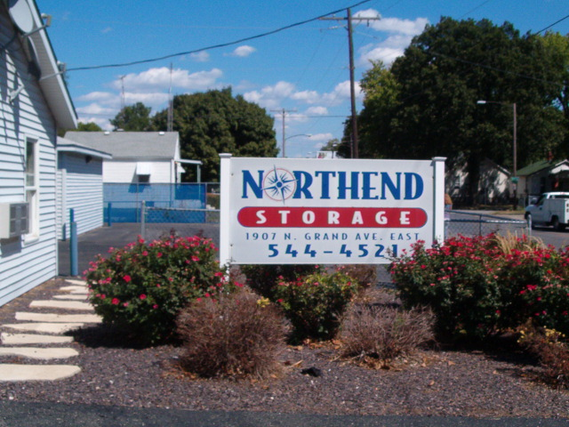 NorthEnd Storage Sign